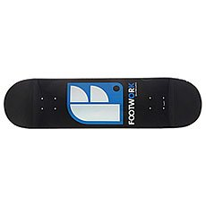 Дека для скейтборда Footwork Original Logo Black 32.5 x 8.25 (21 см)