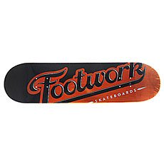 Дека для скейтборда Footwork Original Lucky Orange 31.6 x 8 (20.3 см)