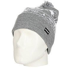Шапка Footwork Pom-Pon Xmas Hat Light Gray Melange