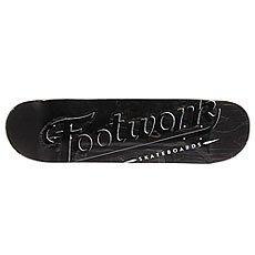 Дека для скейтборда Footwork Original Lucky Black 32.2 x 8.5 (21.6 см)