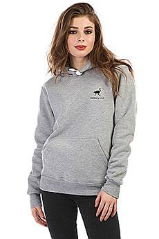 Толстовка Wearcraft Premium Женская Deliveryclub Logo Серый Меланж S