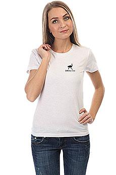 Футболка Женская Классическая Deliveryclub Logo Белая S