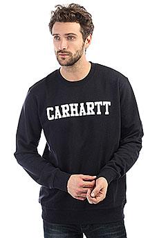 Свитшот Carhartt WIP College Sweatshirt Dark Navy/White
