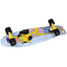Скейт мини круизер Penny Simpsons 27 Ltd Rock On Little Dudes! Otto 7.5 x 27 (68.6 см)