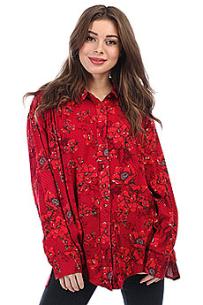 Блузка женская Billabong Meadow Light Velvet Red
