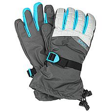 Перчатки сноубордические женские Dakine Capri Glove Silver Houndstooth
