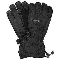 Перчатки сноубордические Dakine Leather Titan Glove Black