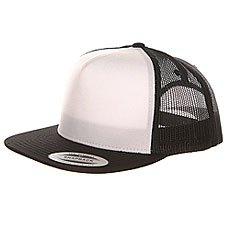 Бейсболка с сеткой Flexfit 6005FW Black/White