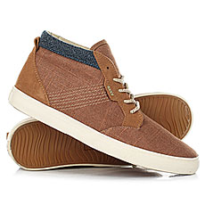Высокие Кеды Reef Outhall Tx Brown/Camel