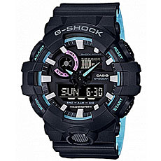 Электронные часы Casio G-Shock Ga-700pc-1a Black/Light Blue