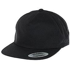Бейсболка классическая Neff Flexfit/Yupoong Deep Black