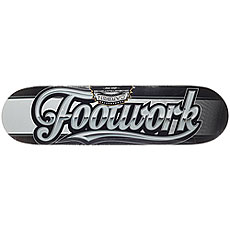 Дека для скейтборда Footwork Carbon Script Black 31.75 x 8.25 (21 см)