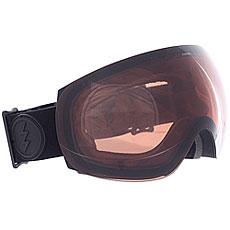 Маска для сноуборда Electric Eg3 Matte Black/Brose