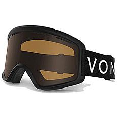 Маска для сноуборда Von Zipper Beefy Black Satin/Bronze