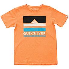 Футболка детская Quiksilver Loud Places Cadmium Orange