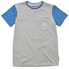 Футболка детская Quiksilver Baysicpcktyth Light Grey Heather