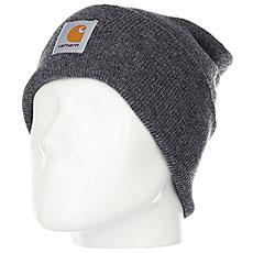 Шапка Carhartt WIP Acrylic Watch Hat Dark Grey Heather