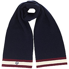 Шарф Fred Perry Bomber Tipped Scarf Navy