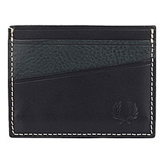 Визитница Fred Perry Geometric Card Holder Black