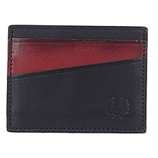 Визитница Fred Perry Geometric Card Holder Brown