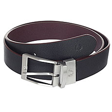 Ремень Fred Perry Textured Reversible Belt Black/Burgundy