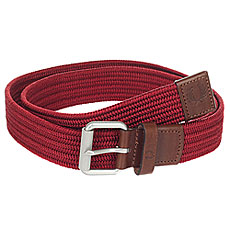 Ремень Fred Perry Woven Cord Belt Burgundy