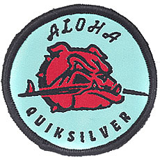 Нашивка Quiksilver Patch Boy Trellis
