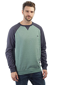 Толстовка свитшот Quiksilver Everydaycrew Trellis Heather