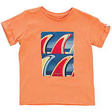 Футболка детская Quiksilver Fin Fanatic Boy Cadmium Orange