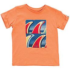Футболка детская Quiksilver Fin Fanatic Boy Cadmium Orange