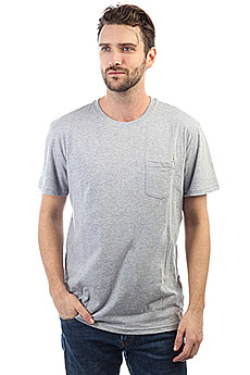 Футболка DC Basic Pocket 2 Grey Heather
