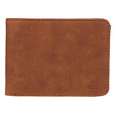 Кошелек Quiksilver Slimvintage Tan Leather