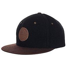 Бейсболка с прямым козырьком Creature Magic Adjustable Black/Brown