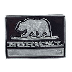 Пряжка Nor Cal Republic Black/Grey
