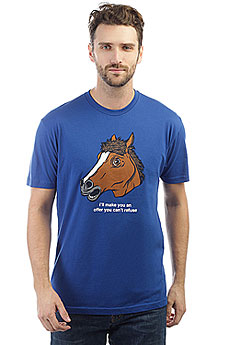 Футболка Enjoi Horse Head Premium Royal