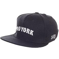Бейсболка с прямым козырьком Zoo York Academy Flex Fit Navy