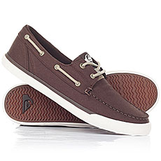 Мокасины Quiksilver Spar Brown/White