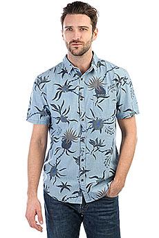 Рубашка Quiksilver Shakkamate Blue Used Shakka Mat