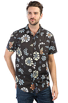 Рубашка Quiksilver Sunsetfloralss Tarmac Sunset Floral