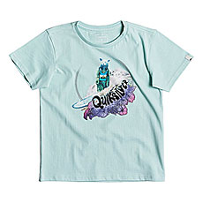 Футболка детская Quiksilver Log Bear Boy Eggshell Blue