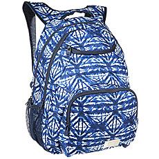 Рюкзак городской женский Roxy Shadow Swell Dress Blues Geometri