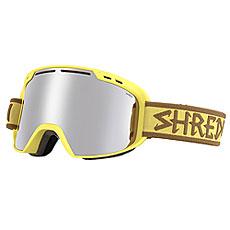 Маска для сноуборда Shred Amazify Antti Yellow Platinum