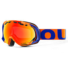 Маска для сноуборда OUT OF Edge Blue Orange(red Mci)