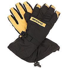 Перчатки сноубордические Dakine Nova Glove Black/Tan