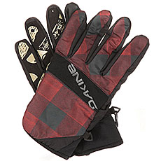 Перчатки сноубордические Dakine Crossfire Glove Red Check
