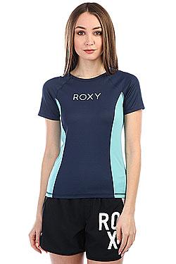 Гидрофутболка женский Roxy Onmyboard Ss Co Dress Blues