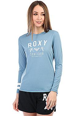 Гидрофутболка женская Roxy Enj Wav Ls Loos Blue Shadow