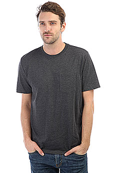Футболка Element Basic Pocket Charcoal Heather