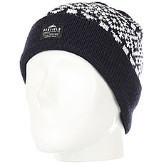 Шапка Penfield Sanford Logo Bobble Beanie Blue