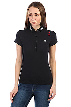 Поло женское Fred Perry Amy Black